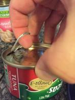 open can tuna